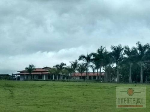 Linda Chácara Com 6 Dormitórios À Venda, 20000 M² Por R$ 1.150.000 - Boituville - Boituva/sp - Ch0601