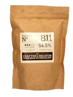 Chocolate Belga Callebaut 811 Semiamargo 55% Cacao X 400g