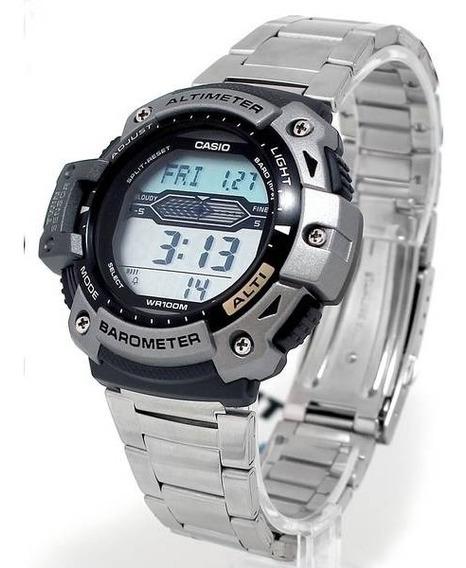 Sgw-300hd Relógio Casio Altimetro Barometro Termometro Metal