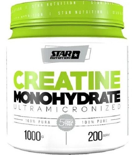 Creatina Star Nutrition 1kg. Zona Sur