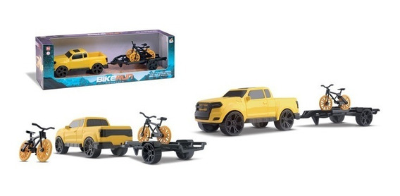 Kit Suv Brinquedo Pickup Bicicleta Carretinha Bike Ranger
