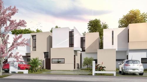 Casa Nueva En Venta, Privada Zensia, Modelo C, Conkal, Mérida Norte