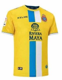 Camisa Espanyol 2018/19 Third (tam G) Pronta Entrega