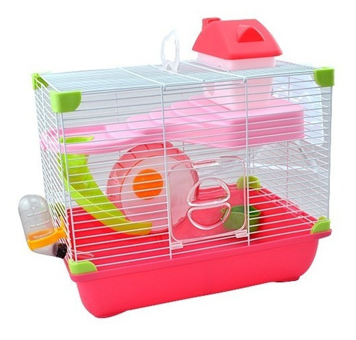 Sp-3645 Jaula Plastica Para Hamster Land Strawberry Farm