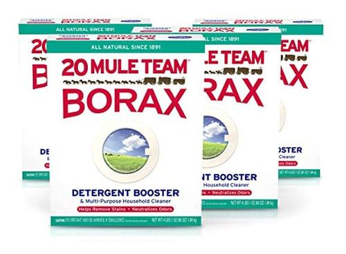 Detergente Natural De 1.8 Kg, 4 Unidades. 20 Mule Team