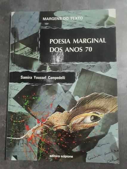 Livro Poesia Marginal Dos Anos 70 Samira Youssef Campedelli