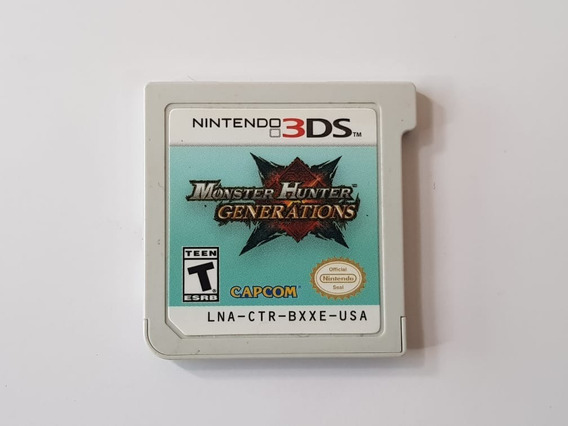 Monster Hunter Generation - Nintendo 3ds - Original Sem Capa