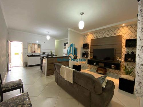 Imagem 1 de 18 de Casa Com 2 Dorms, Parque Ideal (nova Veneza), Sumaré - R$ 299 Mil, Cod: Ca1266 - Vca1266