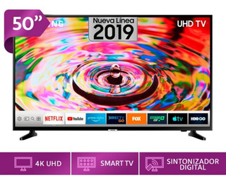 Tv Samsung 50 Uhd 4k 2019 Serie 7 Hdr Smart Sellados Stock