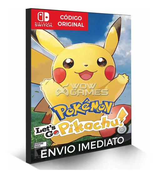 Pokémon: Lets Go, Pikachu! Nintendo Switch Digital Sem Juros