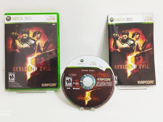Resident Evil 5 - Xbox 360 - Original - Semi Novo