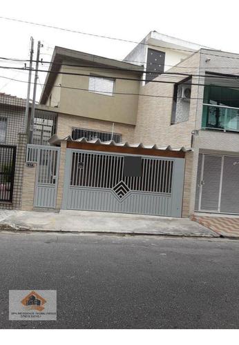 Imagem 1 de 15 de Sobrado Com 3 Dormitórios À Venda, 250 M² Por R$ 720.000 - Vila Formosa (zona Leste) - São Paulo/sp - So0159