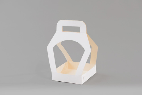 Caja Arnés 15x15x20 Cm (x50u) Huevo Pan Dulce 750grs - 095