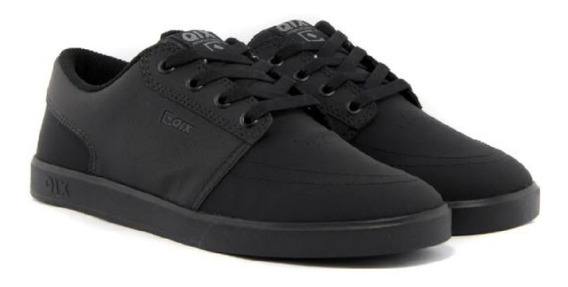 Tênis Qix Next Original Casual Sneakers Skate Preto Total