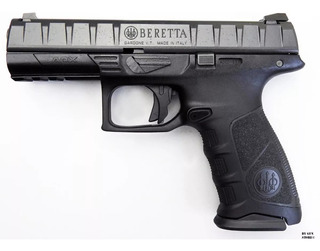 Pistola Beretta Apx Co2 Blowback Postas 4.5mm Acero Tiro