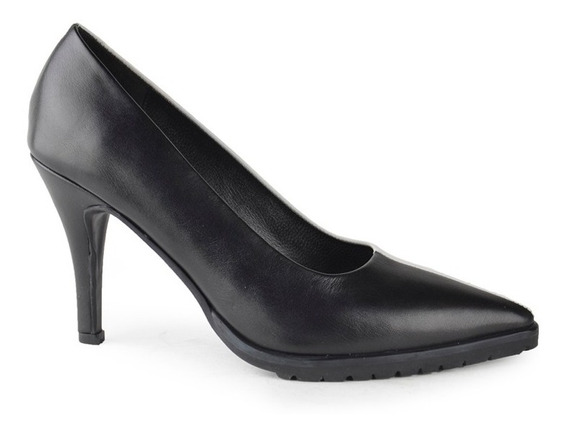 Zapatos De Mujer De Cuero Stilettos Cuota Otranto - Ferraro