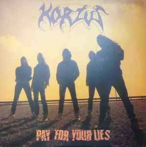 Imagen 1 de 2 de Korzus ¿- Pay For Your Lies - Lp- Cyco Records
