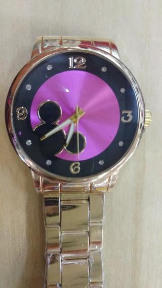 Relógio Feminino De Mickey