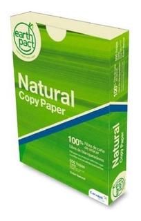 Resma De Papel Earth Pact Natural Copy Carta Resma D Tk210