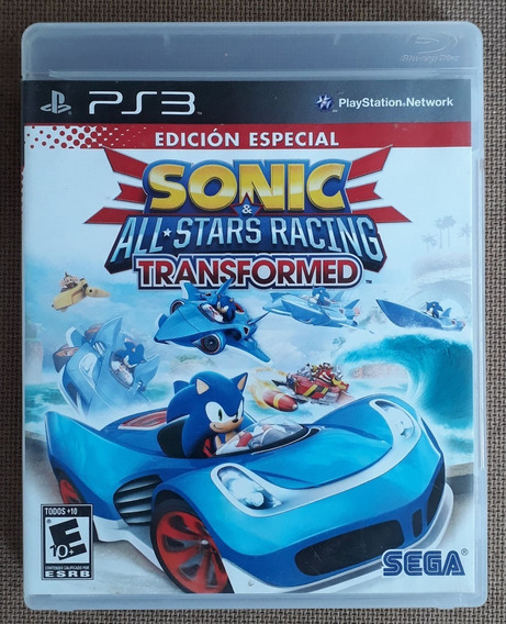 Sonic & All-stars Racing Transformed - Ps3