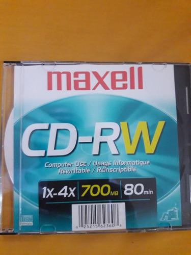 Cd -rw Marca Maxell