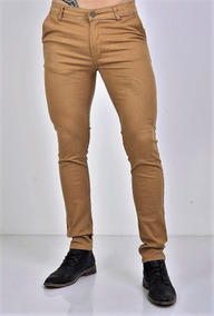Pantalón De Vestir Hombre Mostaza