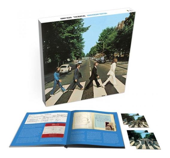 Beatles - Abbey Road 50th [deluxe Box] Produto No Brasil!