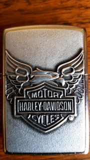 Zippo Harley Davidson Americano Original Nuevo