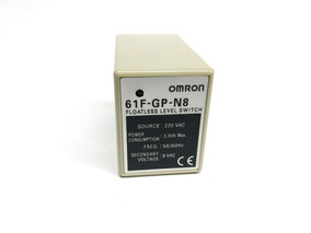 Regulador De Nivel 8 Pinos 61f-gp-n8 Ac220 Omron