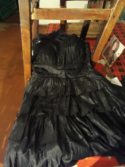 Vestido Negro De Fiesta