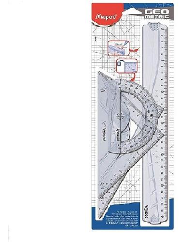 Juego De Geometría Geo Metric 30cm Maped