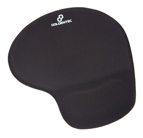 Mousepad Com Apoio Em Gel Goldentec Confort - Preto