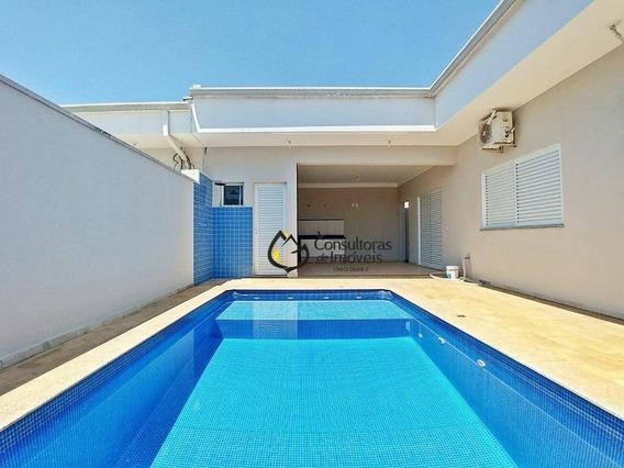Casa Com 3 Dormitórios Para Alugar, 200 M² Por R$ 3.000,00/mês - Condomínio Campos Do Conde Ii - Paulínia/sp - Ca1113