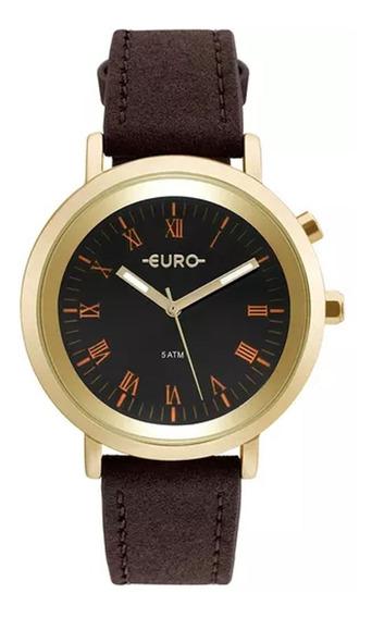 Relógio Feminino Euro Neon Lights Eu2036ymc/2p - Dourado