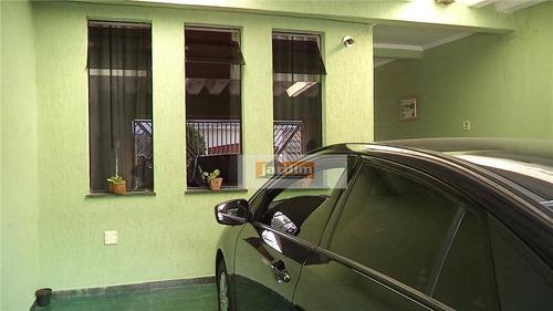 Sobrado Residencial À Venda, Assunção, São Bernardo Do Campo. - So0772