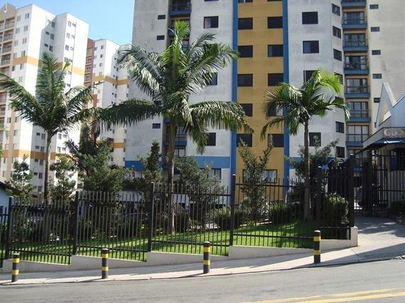 Apto 200 Metros Shopping Taboão, 70 M² Sala Ampla, 2 Dorms, 1 Vaga Coberta R$ 1.000,00 - 580