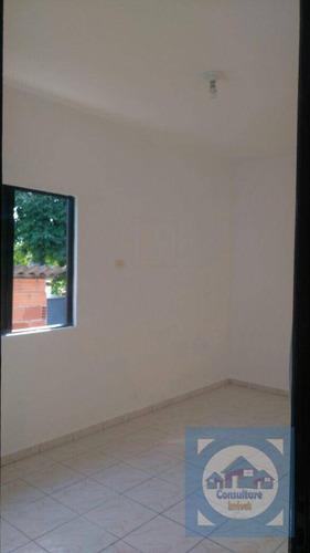 Casa Com 2 Dormitórios À Venda, 91 M² Por R$ 180.000,00 - Parque São Vicente - São Vicente/sp - Ca0972