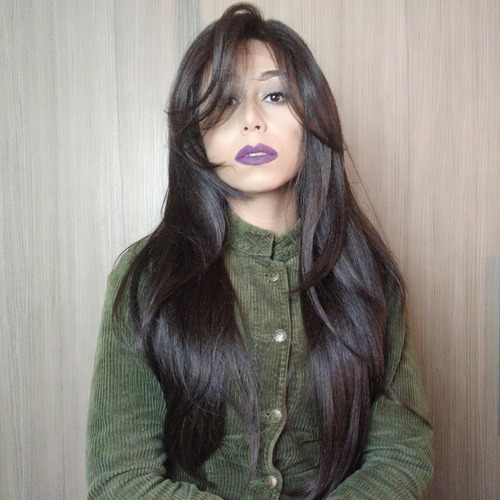 Lace Wig Front Lisa Repartição Livre 4x4