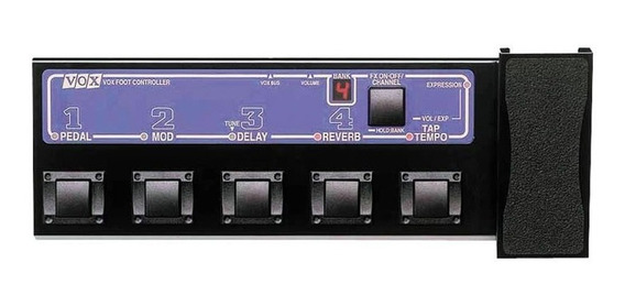 Pedal Controlador Vox Vc-4 Ad120vt E Ad60vt Garantia