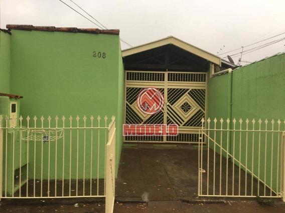 Casa Com 2 Dormitórios Para Alugar, 90 M² Por R$ 950/mês - Morumbi - Piracicaba/sp - Ca2780