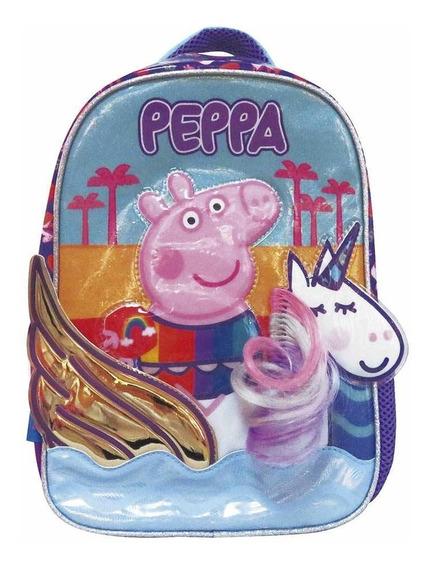 Mochila De Espalda Peppa Pig Pp495 Original 12