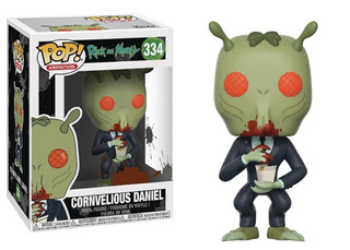 Funko Pop Animation: Rick And Morty Cornvelious Daniel