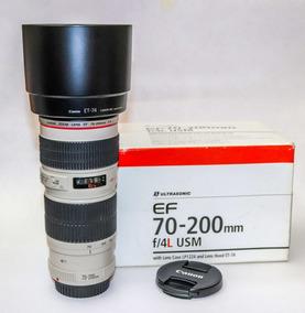 Lente Canon 70 200 F4 L