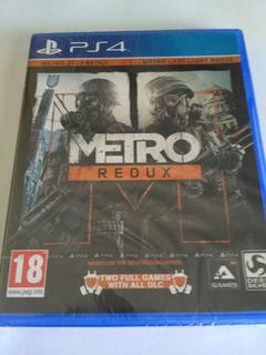 Metro Redux Ps4 Fisico Nuevo Sellado