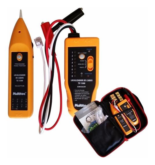 Kit Testador Localizador De Cabos Mutx1500 - Multitoc