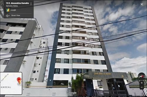 Imagem 1 de 14 de Venda - Apartamento 3/4 No Candeal - Salvador - Ba