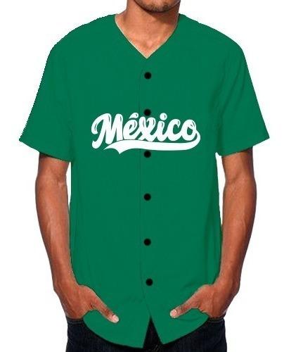 Jersey Casaca De Béisbol México Nombre Número Personalizado