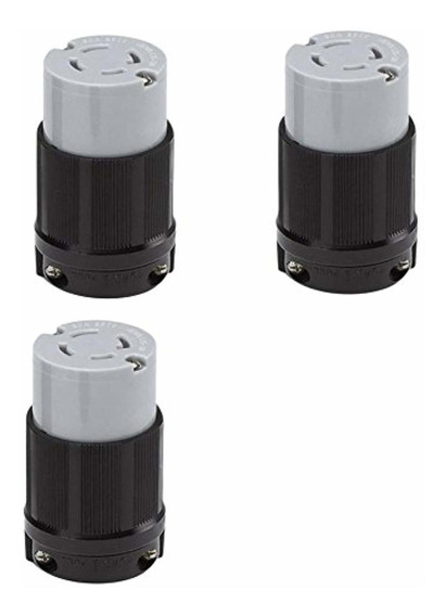 Ocsparts L15-30r Locking Connector, Rated