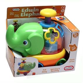 Brinquedo Infantil Elefante Educativo - Fun Time - Multikids