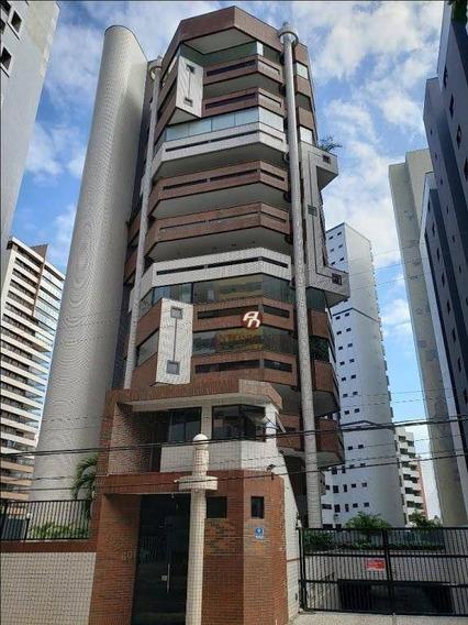 Apartamento Com 4 Suítes À Venda, 400 M² Por R$ 1.450.000 - Meireles - Fortaleza/ce - Ap0434